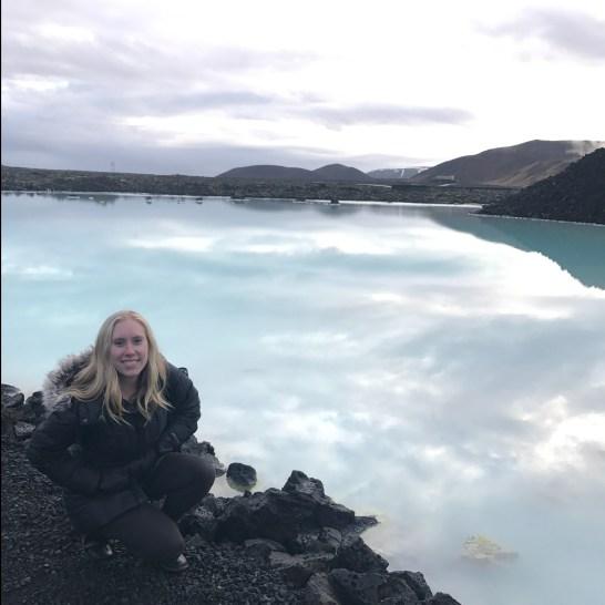 Outside of Blue Lagoon