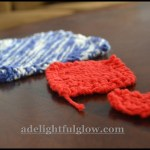 Hand-Knitted Farmhouse Dishcloths