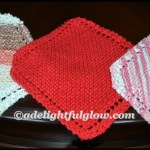 Hand-Knitted Farmhouse Dishcloth Giveaway-Just Because!