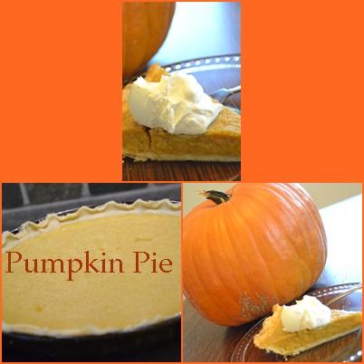 Delicious creamy Pumpkin Pie!