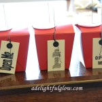 Chinese Style Gift Boxes And Very Fun, Completely Cute, Make Me Smile Gift Tags