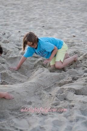 renae and becca make a mermaid-18