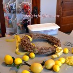 Summertime Yellowy Lemon Wreath