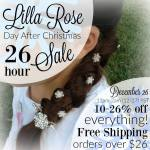 December 26 Sale at Lilla Rose