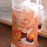Peach Tea Candle