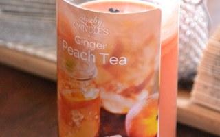 Peach Tea Candle