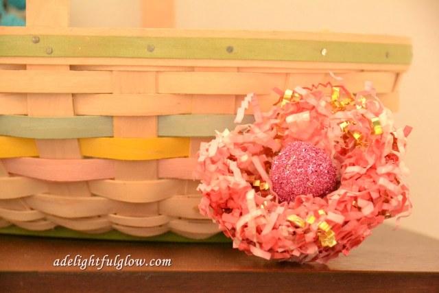 Shredded Paper Nest