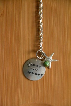 Grace Like Waves Necklace