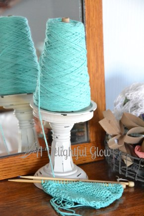 Aqua Dishcloth