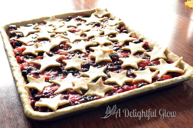 Berry and Stars Pie