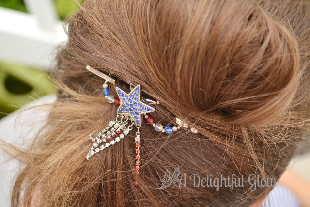 Patriotic Star Dangle Flexi