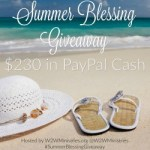 Summer Blessing Giveaway