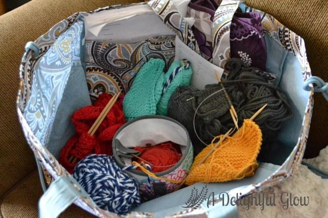 Knittin Bag