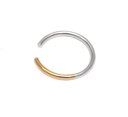 Adeline Cacheux Jewelry Design Bague Phalange Argent Or