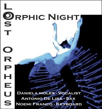 Logo Copertina Orphic Night