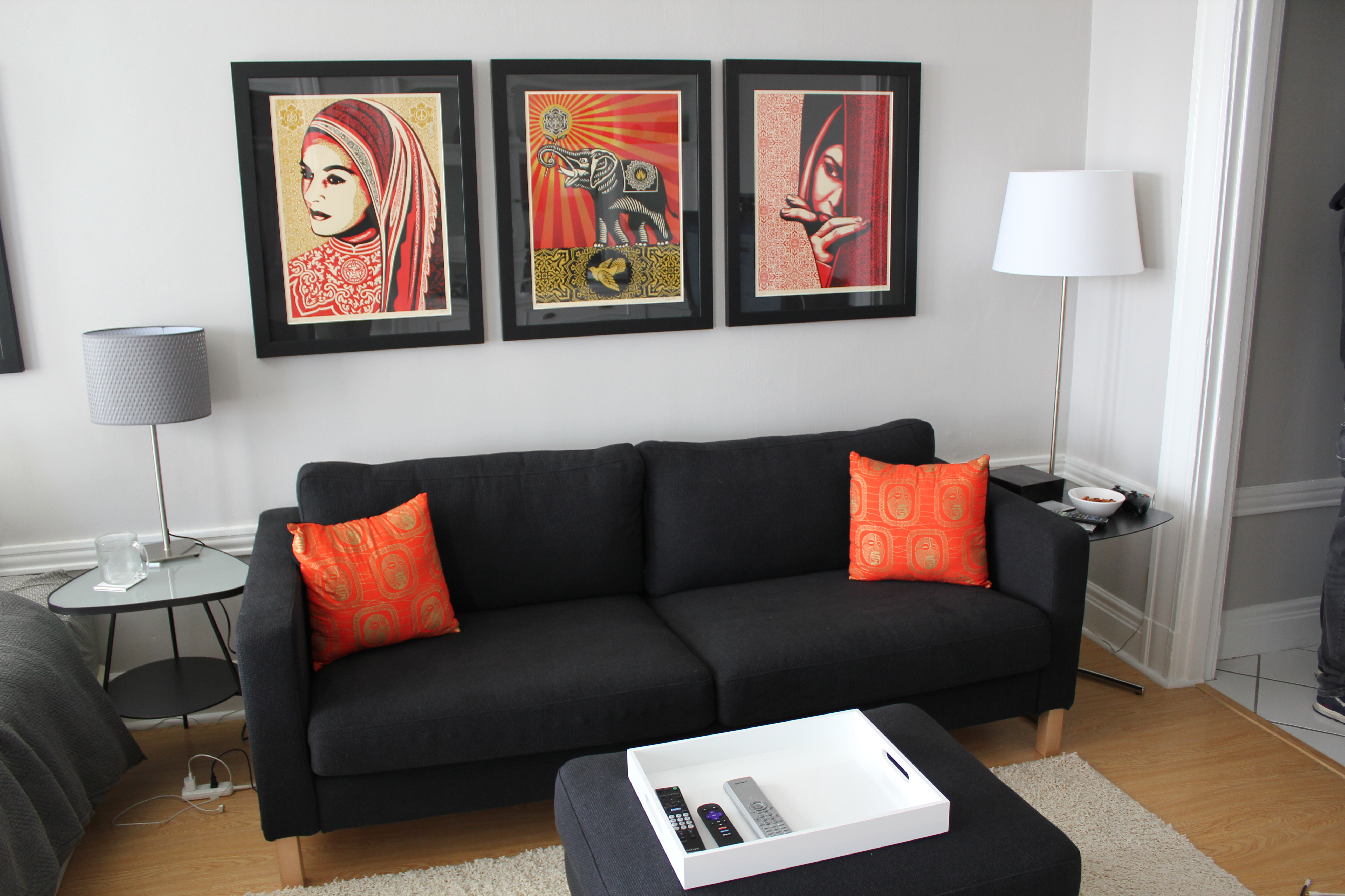 black and orange sofa sectional sofas virginia beach 1000 43 images about deco inspiration on pinterest eames
