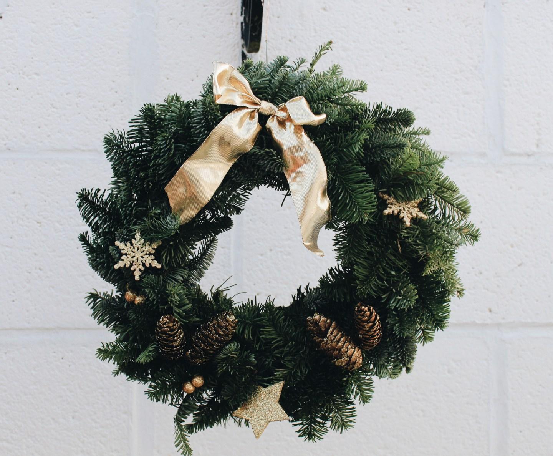 DIY Woodland Wreath | Blogmas Day 8