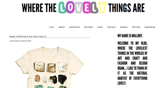 where the lovely things are