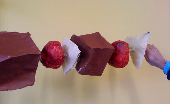 shishkebab sculpture