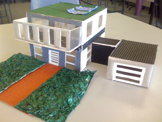 scale model houses