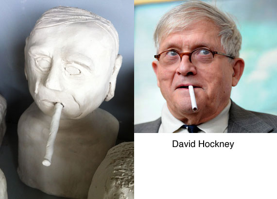 david-hockney-clay-bust