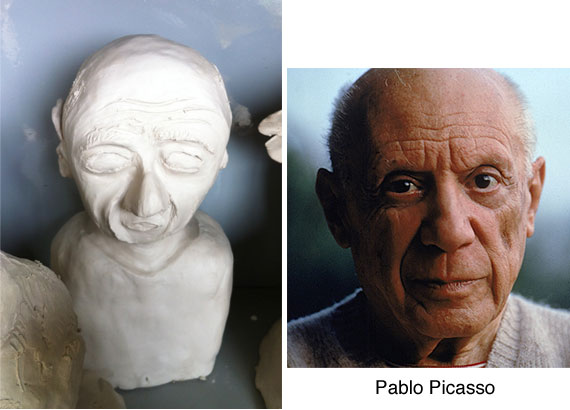 picasso-clay-bust