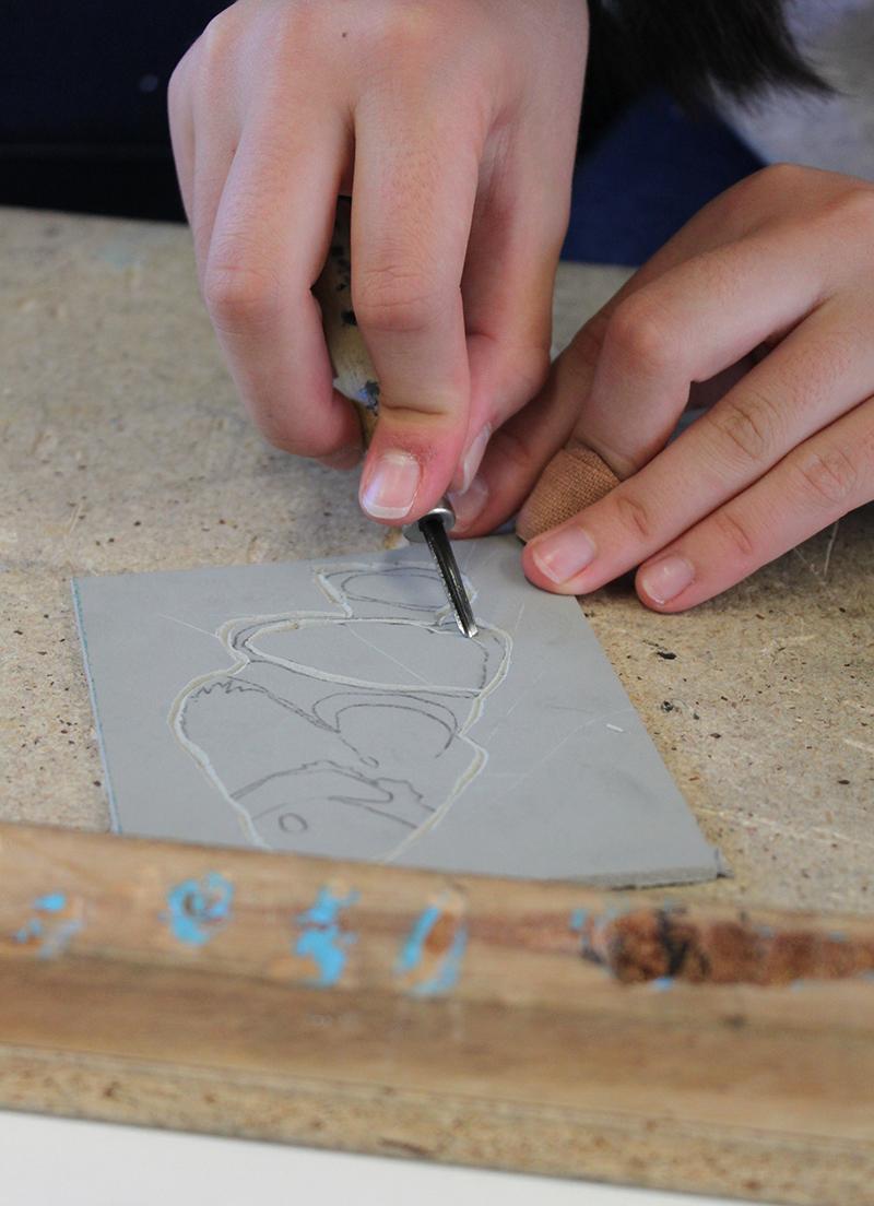 Linoprinting workshop melbourne