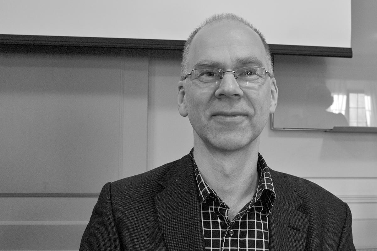 En påfallande nöjd Rolf Källman som är avdelningschef vid RAÄ och projektägare och ny ordförande i styrgruppen.