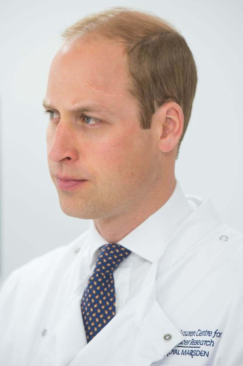 Prinz William Narbe