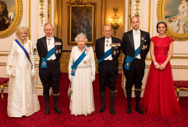 Die britische Königsfamilie
