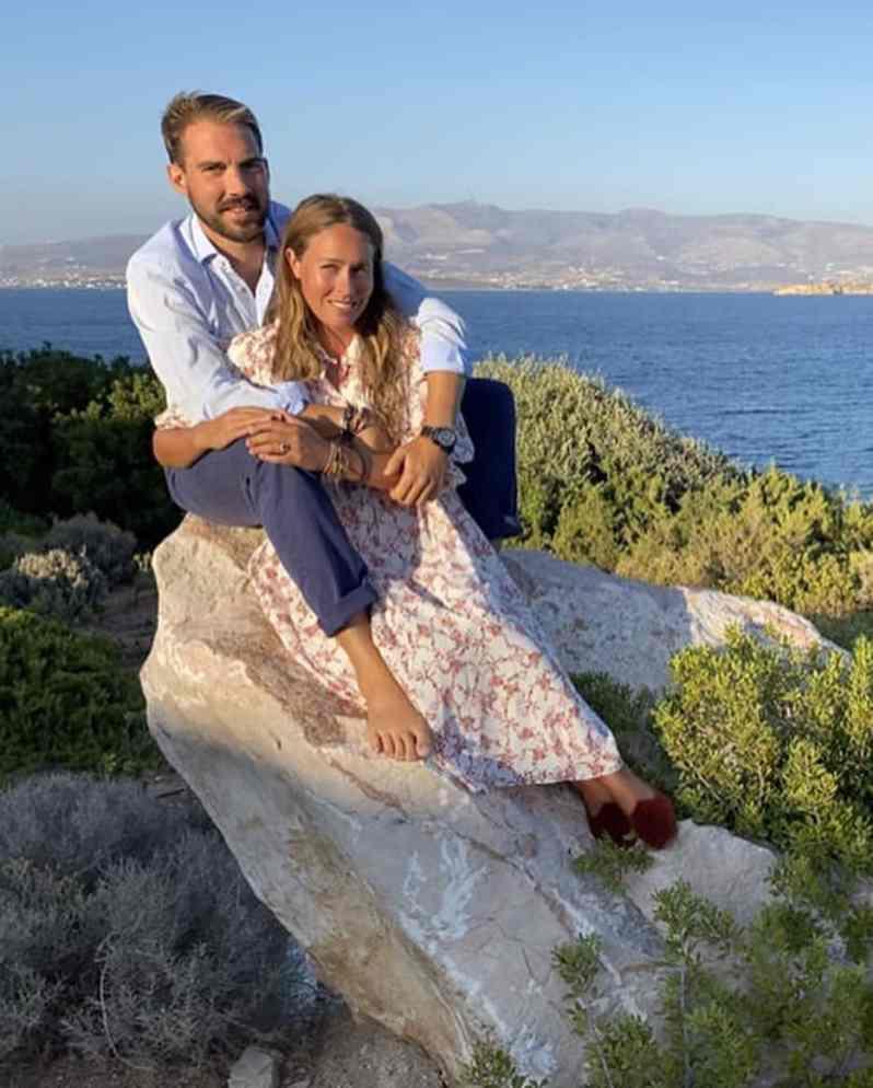 Prinz Philippos Verlobt Sich Mit Nina Flohr Neuigkeiten Royals