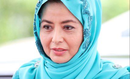 Königin Raja Zarith Sofiah