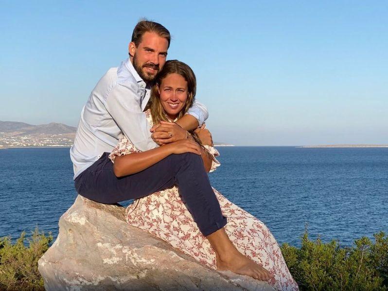 rinz Philippos von Griechenland und Nina Flohr.