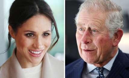 Herzogin Meghan und Prinz Charles