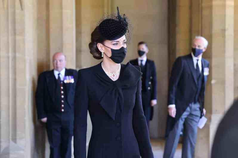 Herzogin Kate bei der Trauerfeier von Prinz Philip