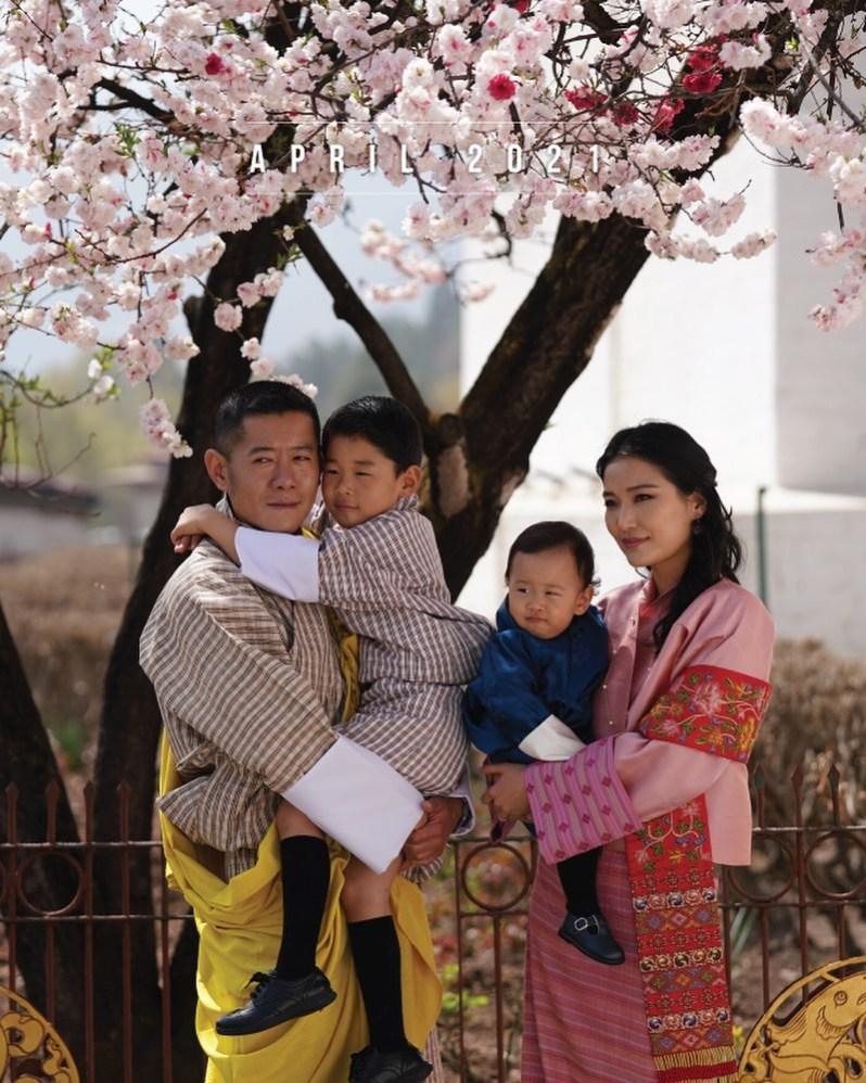 Königsfamilie Bhutan