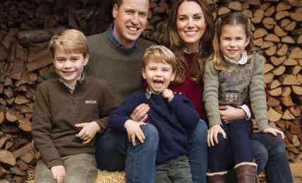 Prinz George und Prinzessin Charlotte unterstützen Prinz William