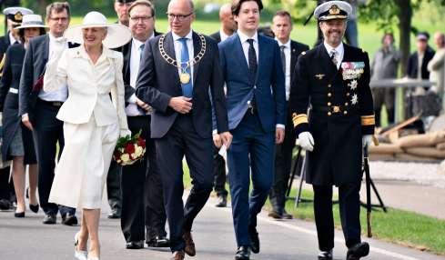 Prinz Christian hilft Königin Margrethe aus der Patsche
