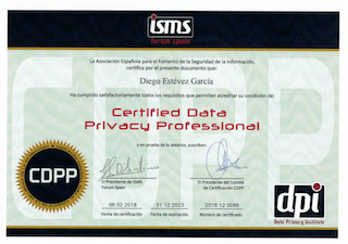 TITULO PROTECCION DATOS DIEOG ESTEVEZ