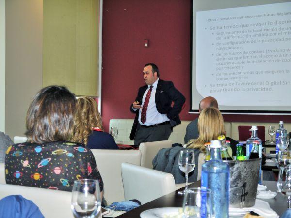 charla circulo empresarios PROTECCION DE DATOS EN AMBITO LABORAL
