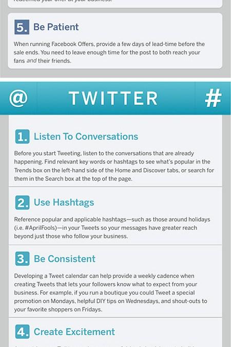 Social Media Insider Tips
