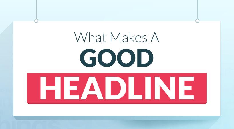 Infographie : l'art de trouver les bons titres pour ses articles