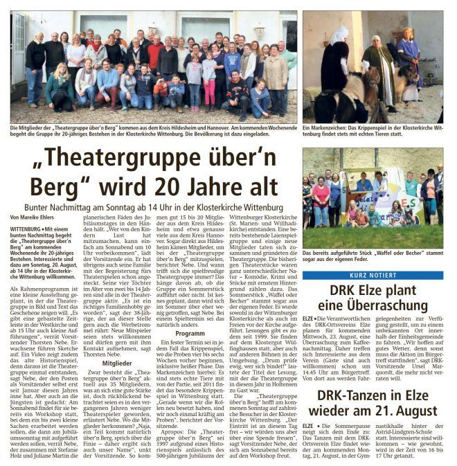 Bericht LDZ Wittenburg