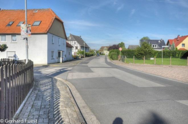 Die Bauarbeiten auf der Straße Am Mühlenfeld sind wohl abgeschlossen