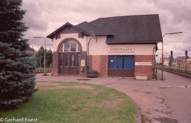 1994 war in dem Gebäude noch die Wartehalle und die Fahrkartenausgabe