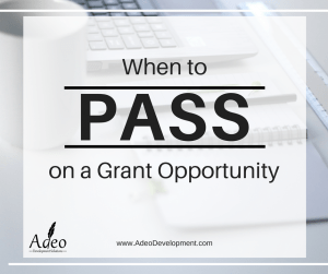 Adeo Development Solutions | Grant Writing Tips