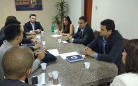 Adepol CE em ação: Reunião com grupo  de novos Delegados sobre a estrutura de trabalho.