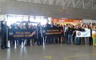 Delegados protestam contra a Reforma da Previdência