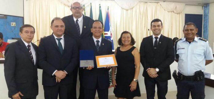 Delegado Jeffirson Pereira recebe título de cidadão iguatuense