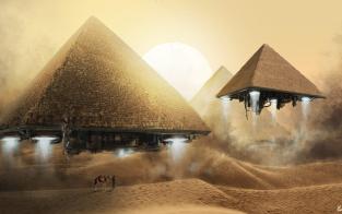 Pyramid Spaceship